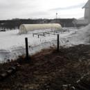 монтаж винтовых свай в кирове зимой