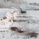 монтаж винтовых свай зимой под теплицу