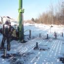 винтовые сваи Д 114мм  в Кирове