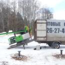 мобильная установка для монтажа винтовых сваи в кузове газели