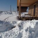 поселок на винтовых сваях в д.Шихово