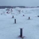 винтовые сваи киров д114мм смонтированные под ключ зимой