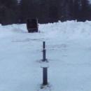 винтовые сваи киров д114мм смонтированные под ключ зимой 2016г