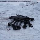 винтовые сваи киров, готовые к монтажу на участке