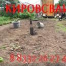 Монтаж винтовых свай Киров длинной 2500мм диаметром 108мм