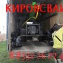 Разгрузка винтовых сваи  д 108мм Киров