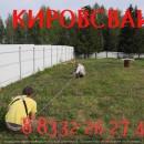 установка точных размеров при монтаже винтовых свай в Кирове